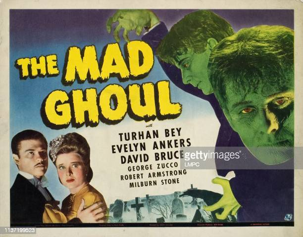 The Mad Ghoul lobbycard Turhan Bey Evelyn Ankers David Bruce 1943