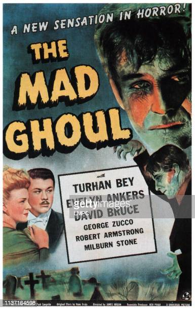 The Mad Ghoul poster Evelyn Ankers Turhan Bey David Bruce 1Sheet poster 1943