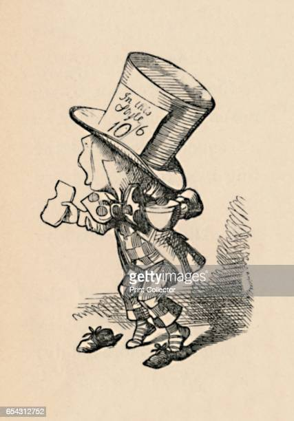 The Mad Hatter in Court 1889 Lewis Carrolls Alice in Wonderland as illustrated by John Tenniel From Alices Adventures in Wonderland by Lewis Carroll...
