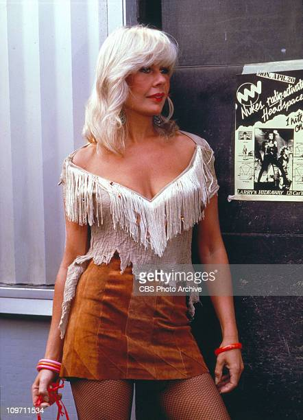 CAGNEY LACEY the madeforTV movie / TV pilot cast member Loretta Swit goes undercover Image dated 1981
