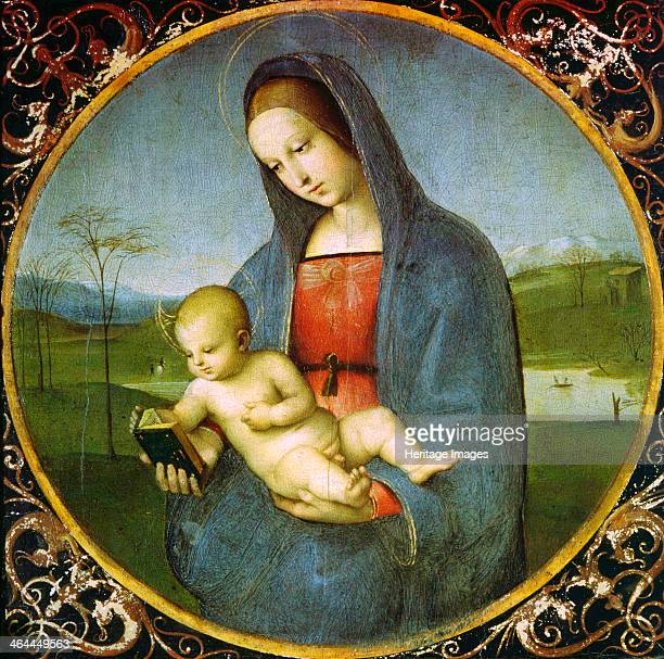 'The Madonna Conestabile' 15021503 Found in the collection of the State Hermitage St Petersburg
