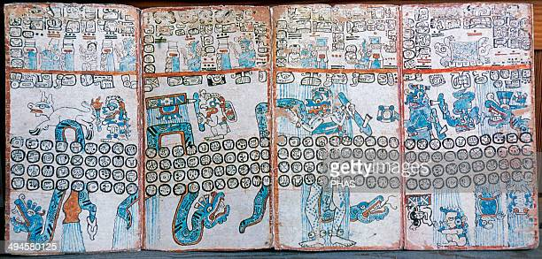 The Madrid Codex Postclassic Period There are 112 pages which got split up into two separate sections known as the Troano Codex and the Cortesianus...