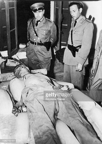 The Mafioso Gangster Salvatore Giuliano Was Found Dead In The Courtyard Of A House In Castelvetrano Sicily On July 14 1950 He Was Assassinated By His...