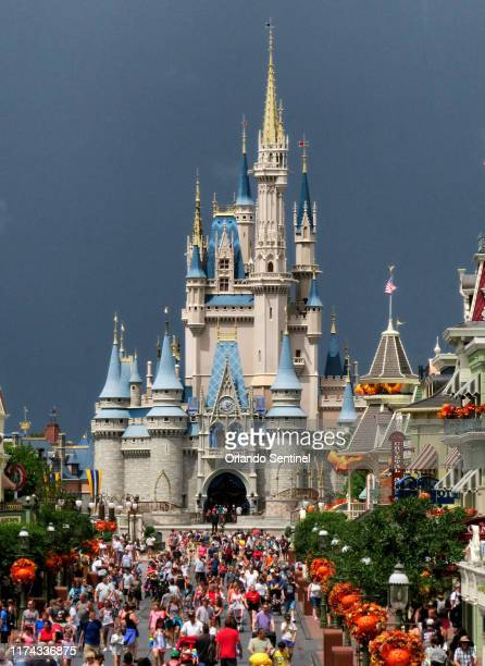 The Magic Kingdom at Walt Disney World on Sept. 3, 2019 in Lake Buena Vista, Fla. A Disney World program that gives guests at seven hotels on the...