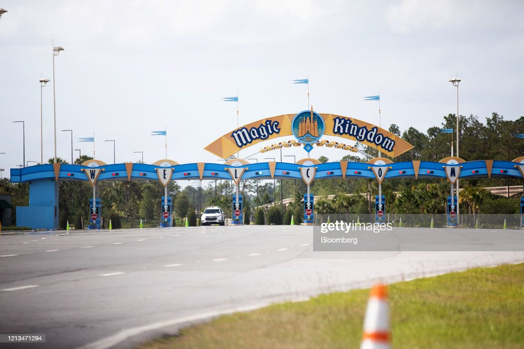 In The Shadow Of The Magic Kingdom, Businesses Try To Hang On : News Photo