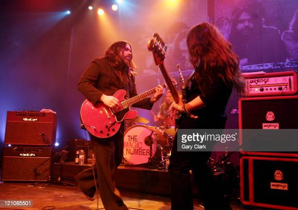The Magic Numbers during The Magic Numbers in Concert at the Forum - February 9, 2007 at Forum in London, Great Britain.