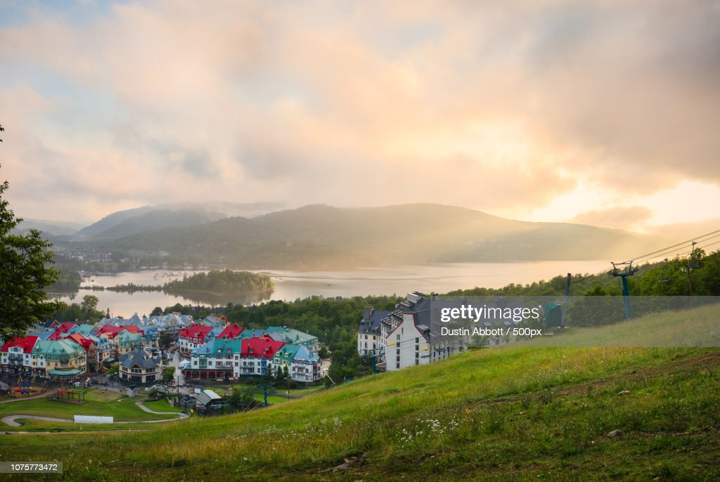 The Magic of Mont Tremblant : Stock Photo
