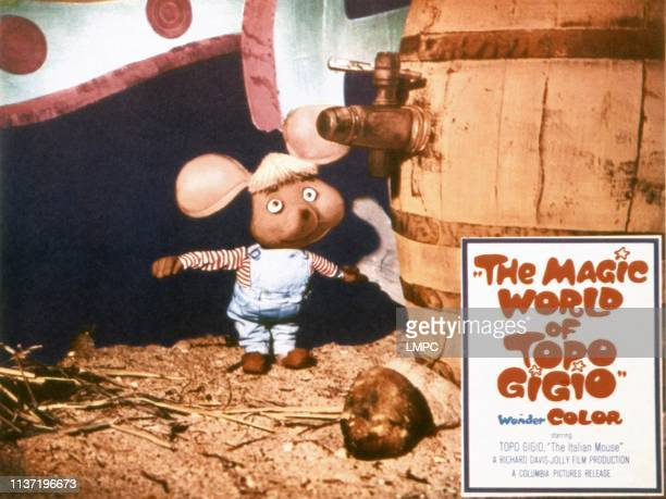 The Magic World Of Topo Gigio lobbycard 1965