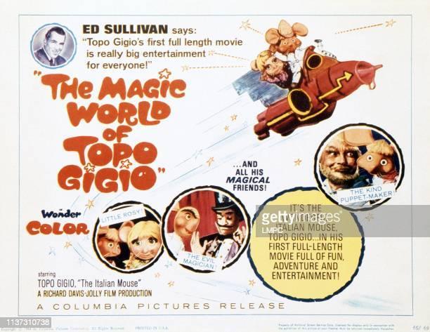 The Magic World Of Topo Gigio lobbycard Ed Sullivan Topo Gigio the Italian mouse 1961