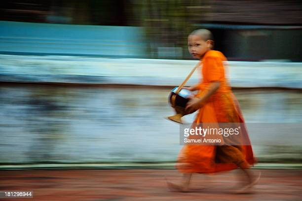 The magical city of Luang Prabang, Laos, a UNESCO World Heritage Site is located in north central Laos, where the Nam Khan River meets the Mekong...