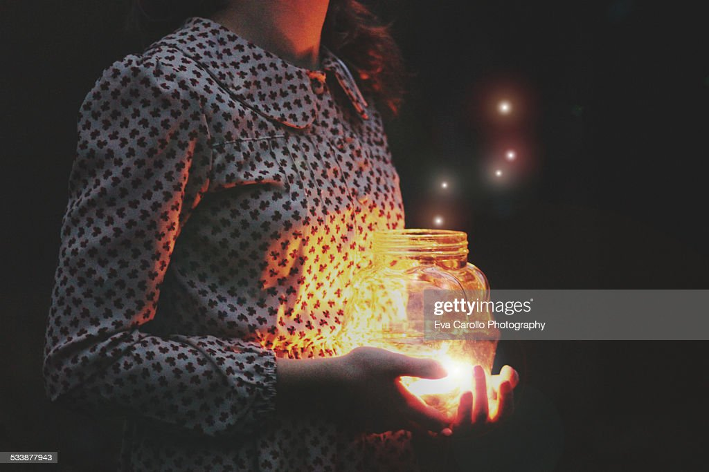 The magical wishes : Stock Photo