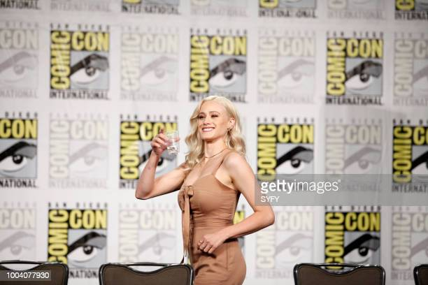 DIEGO The Magicians Panel Pictured Olivia Taylor Dudley