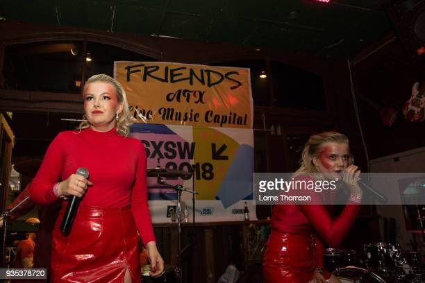 The Magnettes perform at Friends during SXSW on March 17 2018 in Austin Texas
