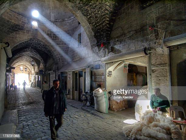 CONTENT] the magnificent Souq of Aleppo Syria The labyrinthine covered souq is covered by stone archways for 20 miles making this the largest in the...