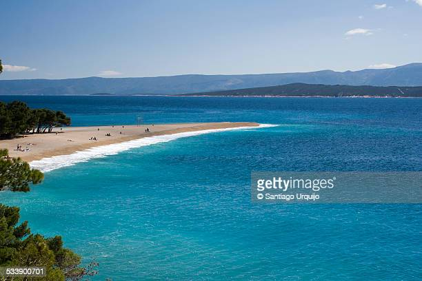 The magnificent Zlatni Rat beach in Bol