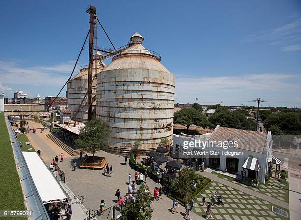 The Magnolia Market at the Silos complex is in the heart of Waco