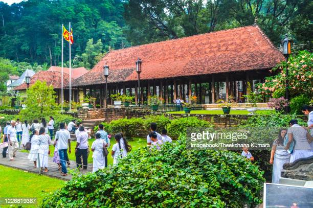 the magul maduwa of the sacred tooth relic, kandy, sri lanka. - imagebook stock pictures, royalty-free photos & images