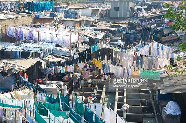 The Mahalaxmi Dhobi Ghat in Mumbai is said to be the world's largest outdoor laundry. There are un to 5,000 Dhobis who live and work in the area....