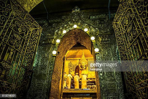 The Mahamuni Buddha Temple