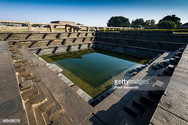 The Mahanami Dibba, a part of the ruins of the former Vijayanagara Empire, which was established in 1336 by Harihara I and his brother Bukka Raya I...