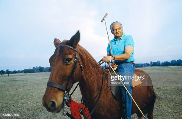 The Maharaja of Jaipur Bhawani Singh head of the Royal house of Jaipur is also a brilliant polo player like his father playing for the Indian Army at...