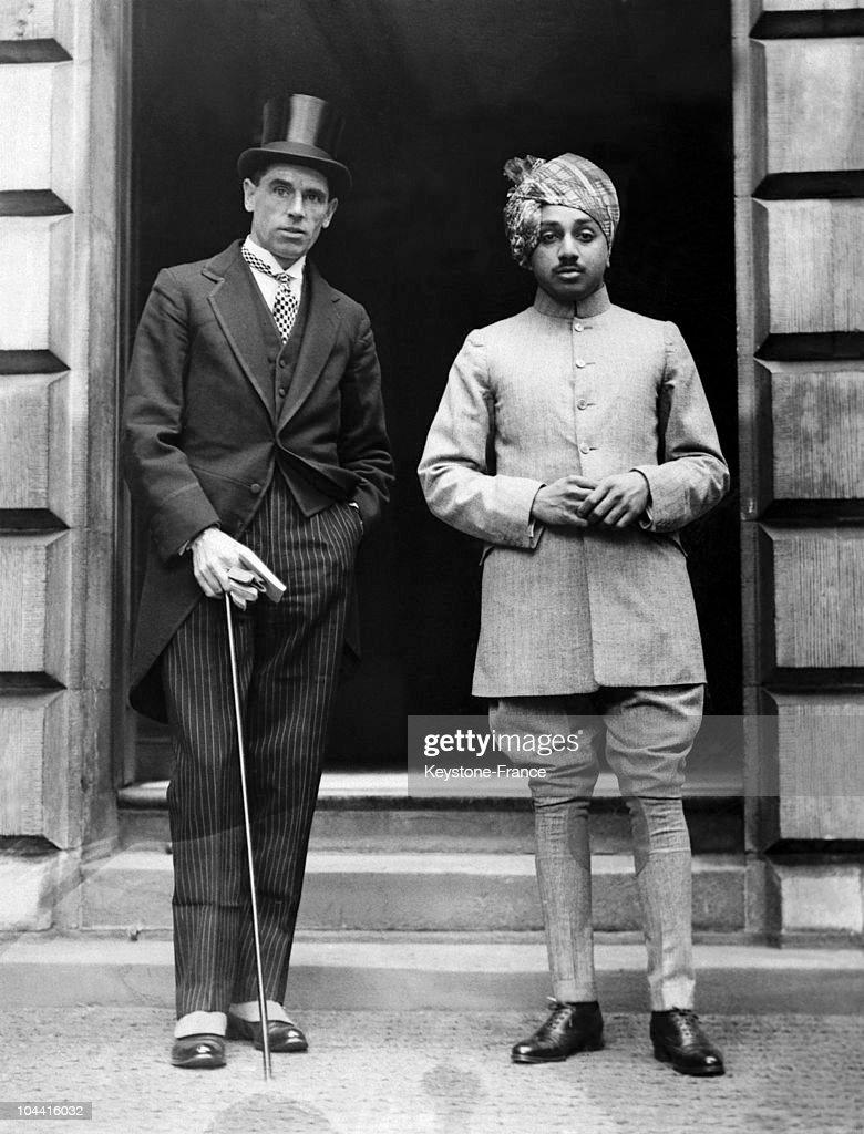 The Maharaja Of Jodhpur With A Friend In London, Circa 1925-1937. : News Photo