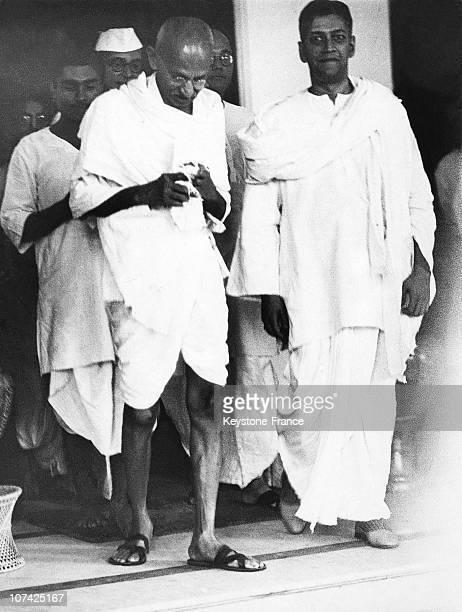 The Mahatma Gandhi After His Encounter With John Anderson At Calcutta In India On November 11St 1937