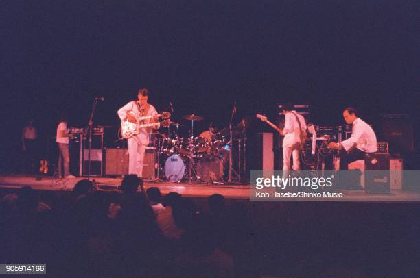 The Mahavishnu Orchestra live at Shibuya Kokaido Hall, September 19 Tokyo, Japan. John McLaughlin, Jan Hammer, Rick Laid, Billy Cobham.