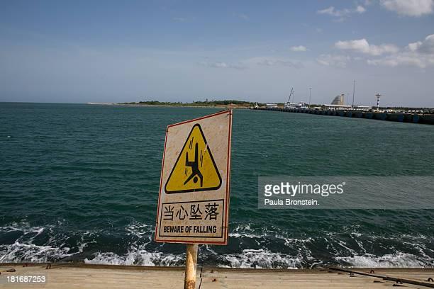 The Mahida Rajapaksa Port is seen still under construction in Hambantota July 6 2013 War's end has unleashed Sinhalese nationalism that has Tamils...