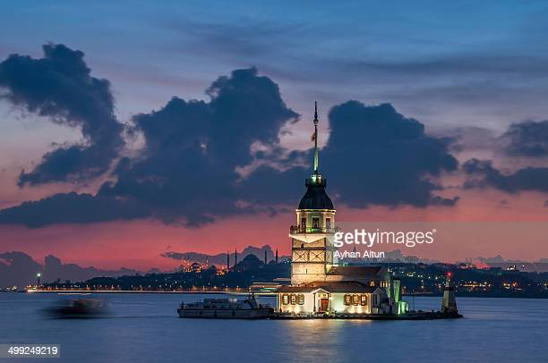 CONTENT] The Maiden s Tower also known in the ancient Greek and medieval Byzantine periods as Leander s Tower sits on a small islet located at the...