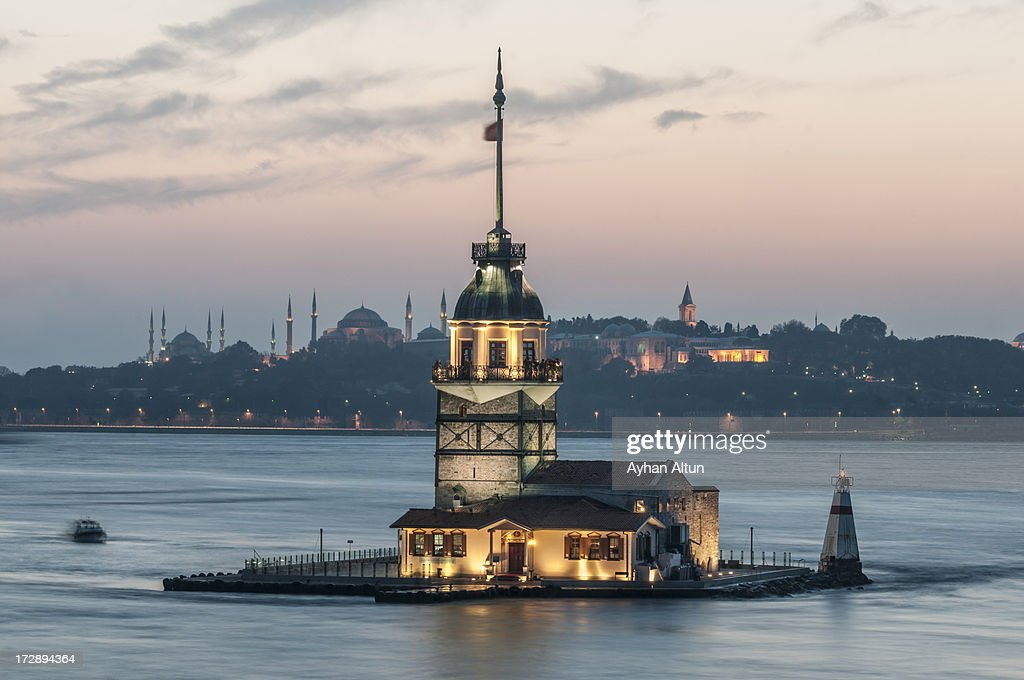 The Maiden's Tower : Stock Photo