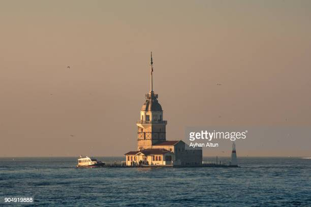 The Maiden's Tower , Uskudar, Istanbul,Turkey