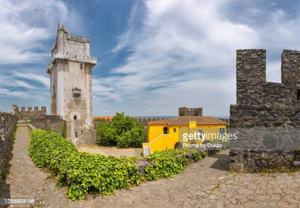 The mail tower of the Castelo de Beja, Beja, Portugal.