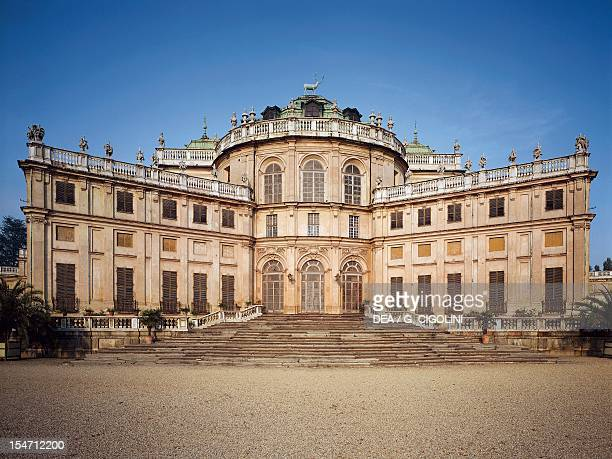 The main body of Stupinigi's Little Hunting Palace by the architect Filippo Juvarra Italy 18th century