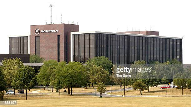 The main building of Motorola's offices is seen August 12 2002 in Schaumburg Illinois Motorola Inc has been contacted by federal authorities...