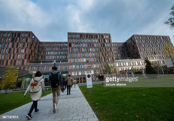 The main building of the Frankfurt School of Finance Management can be seen in Frankfurt am Main Germany 11 October 2017 The private university has...