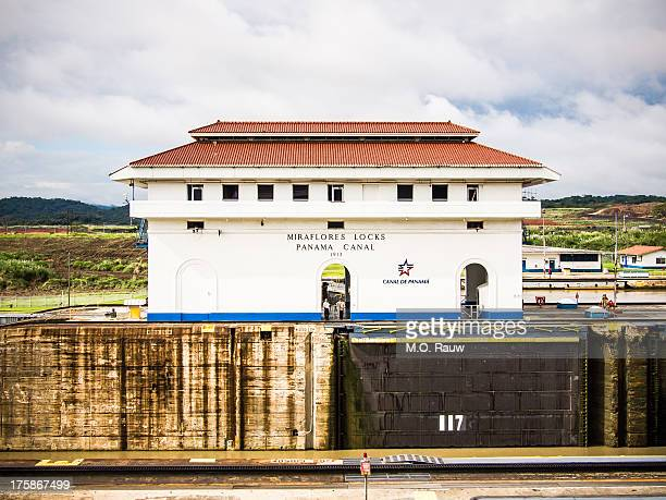 CONTENT] The main building of the Miraflores Locks on the Pacific side of the Panama Canal A true engineering marvel and a vital transportation link...
