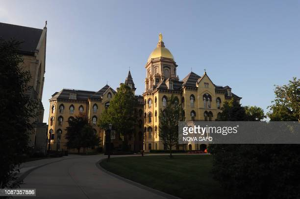 The Main Building on the campus of Notre Dame University on July 2017 in South Bend Indiana The University of Notre Dame one of the oldest and most...