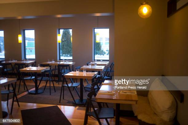 The main dining room before service at Salt Pine Social which opened in October
