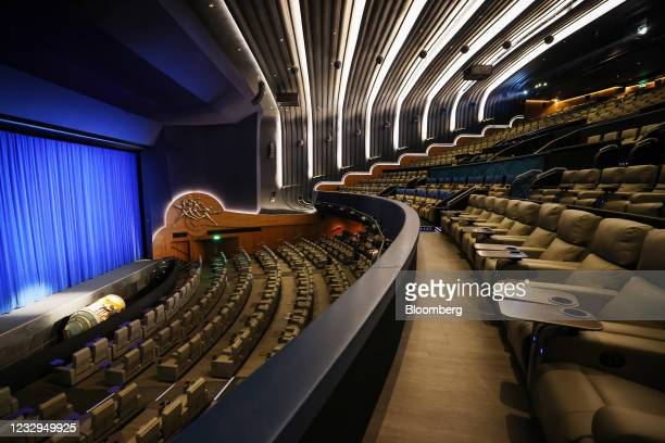 The main Dolby screen cinema at the Odeon cinema in Leicester Squaure in London, U.K., on Monday, May 17, 2021. England progresses to its third step...