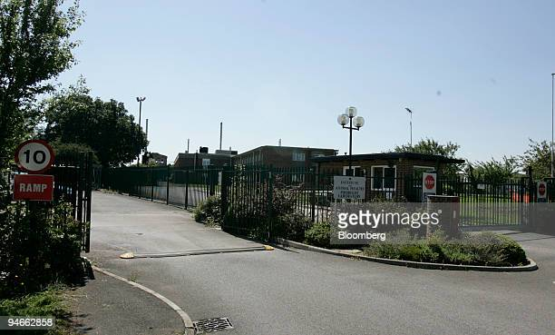 The main entrance at Pirbright to the Institute for Animal Health laboratory in Pirbright Surrey UK on Sunday Aug 2007 The UK government extended its...