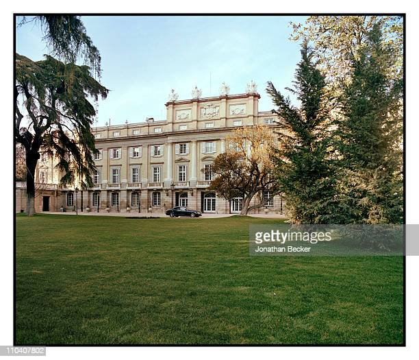 The main entrance of the Palacio de Liria is photographed for Vogue Espana on March 1517 2010 in Madrid Spain Published image