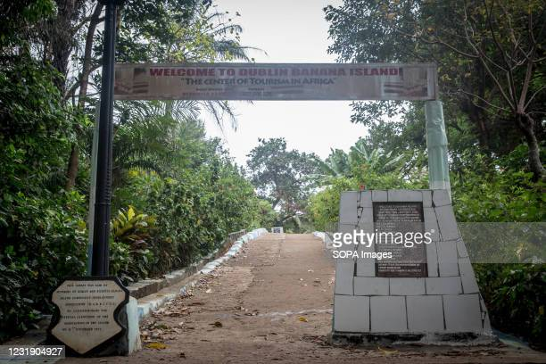 The main Entrance to the Banana Islands. The Banana Islands were once a slave trading port. They are now home to a few hundred people. The Banana...