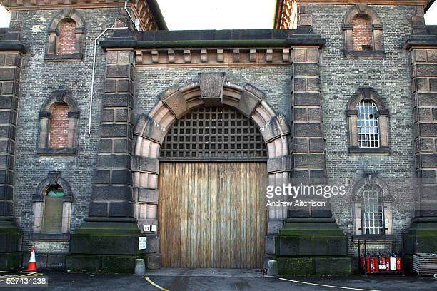 The main gate into Wandsworth prison HMP Wandsworth in South West London was built in 1851 and is one of the largest prisons in Western Europe It has...
