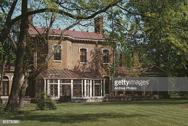 The main house at Ashland, the Henry Clay estate in Lexington, Kentucky, May 1958.
