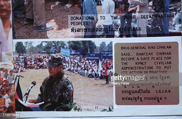 The main instigator of the Banteay Chhmar lootings is General Kho Chhean a former officer of the anticommunist guerilla KPNLF Parts of the temple...