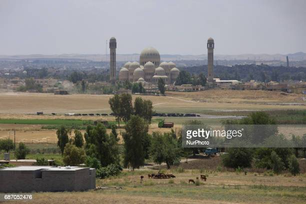 The main Mosque in Mosul with the leaning minaret of Great Mosque of alNuri in Mosul where the ISIS leader Abu Bakr alBaghdadi declared the Caliphate...