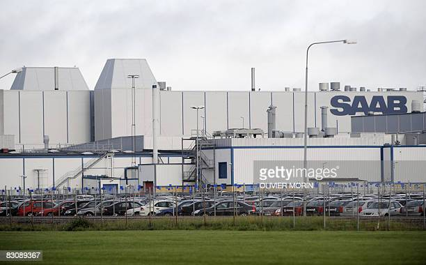 The main production site of Swedish automobile company Saab is pictured at its headquarters in Trollhattan in southwest Sweden on October 2 2008 AFP...
