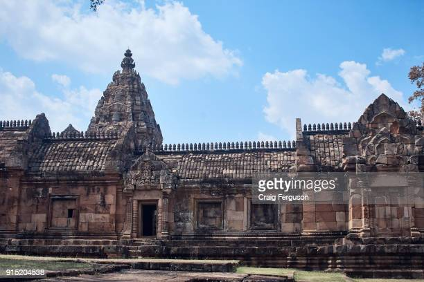 The main sanctuary at Phanom Rung a Hindu temple complex built on the rim of an extinct volcano that was constructed during the Khmer empire Built...