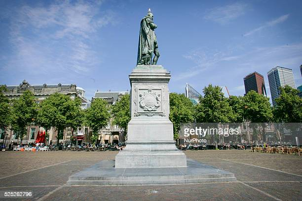 THE HAGUE The main square is seen where many pubs and cafes house next to each other Fans of the local football club ADO Den Haag will be marching in...